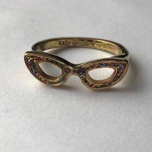 Kate Spade Glitter Goreski Ring.